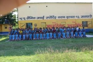 लुम्बिनी अञ्चलमै सर्वाधिक भर्ती गर्ने यो एक मात्र त्यस्तो ट्रेनिङ्ग सेन्टर हो  ! यस ट्रेनिङ्ग सेन्टरमा ट्रेनिङ्ग गर्ने 99 % सफल भएका छन ! गुर्खा स्पोर्ट्स को बारेमा सुन्नु / बुज्नु  भछ ??